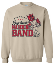 Load image into Gallery viewer, Razorback Marching Band Crewneck Design 2020