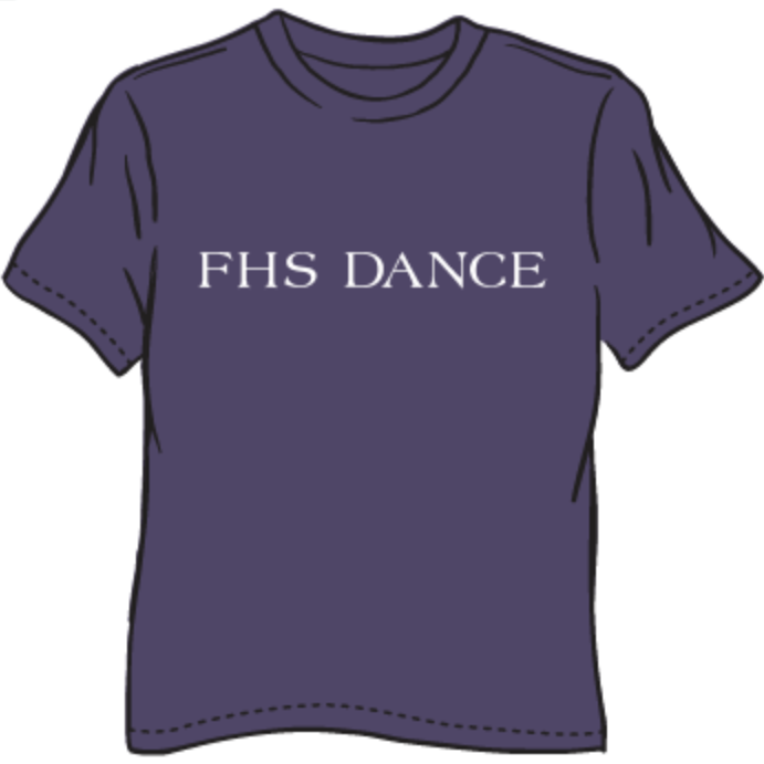 FHS DANCE T-SHIRT FALL 2020