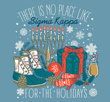 Load image into Gallery viewer, Sigma Kappa College of Charleston Holiday Design 2020