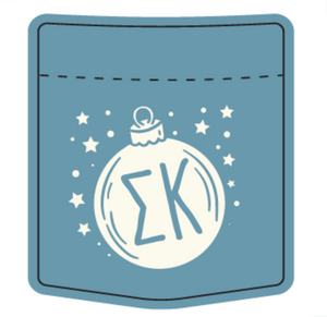 Sigma Kappa College of Charleston Holiday Design 2020