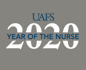 Student Nurse Association University of Arkansas Fort Smith PR Design 2020