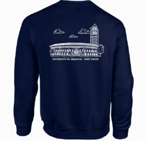 Student Nurse Association University of Arkansas Fort Smith Crewneck Design 2020