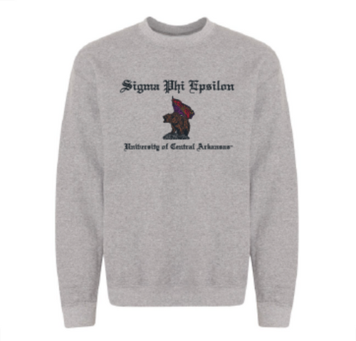 Sigma Phi Epsilon University of Central Arkansas Crewneck 2020