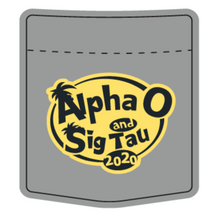 Load image into Gallery viewer, Alpha Omicron Pi Southeastern Louisiana University Homecoming Design 2020