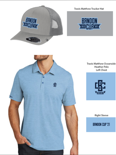 Bandon Cup Polo + Hat