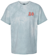 Load image into Gallery viewer, Alpha Phi Oklahoma University Tie Dye T-Shirt Design 2021
