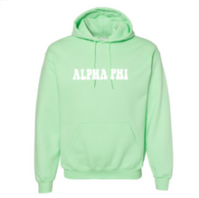 Load image into Gallery viewer, Alpha Phi University of Oklahoma Hoodie: Individual Shipping