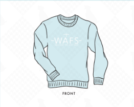 Wives of the Air Force Ringer PR Crewneck
