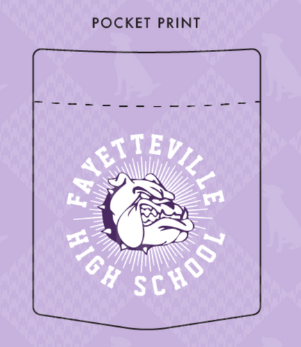 Fayetteville High School Dance Fundraising T-Shirt