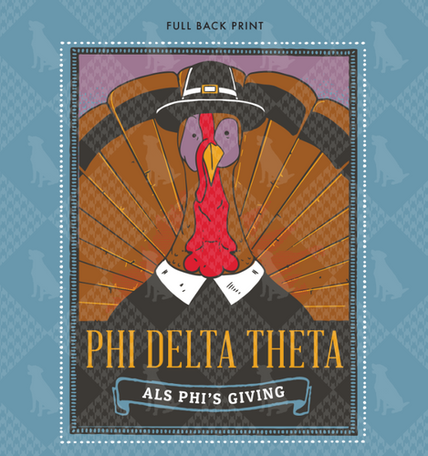 Phi Delta Theta University of North Carolina at Charolette Philanthropy Shirt 2019