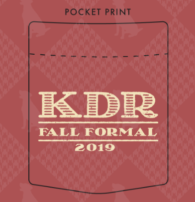 KDR Colgate University Fall Formal Design 2019