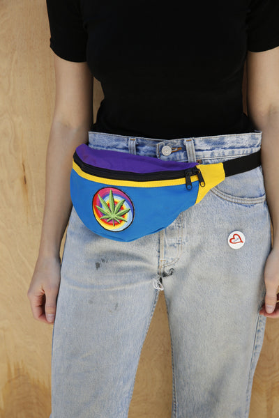 VIBES PATCHED FANNY PACK