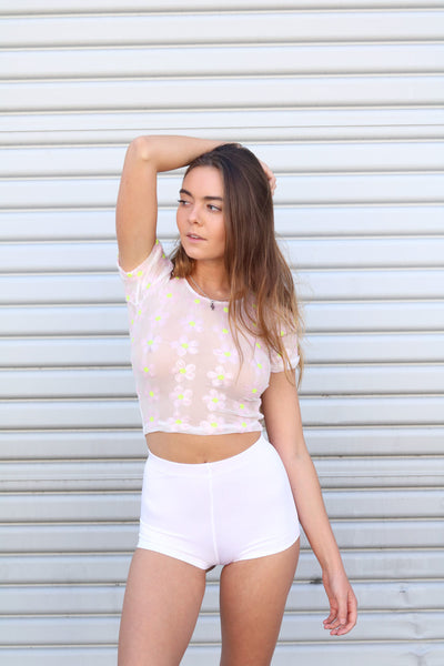 DAISY DREAMS CROP TOP