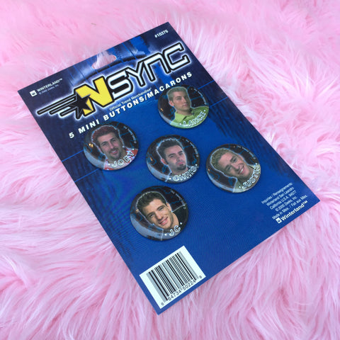 NSYNC MINI BUTTON SET