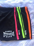COBRA FITNESS CLUB SPANDEX SHORTS