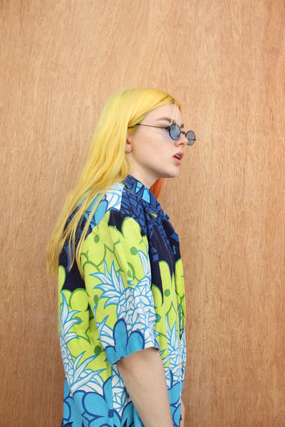 TROPICS BUTTON UP