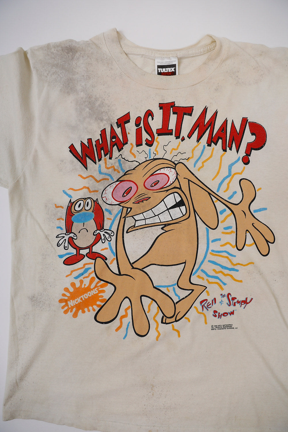 REN AND STIMPY WHAT IS IT MAN ?