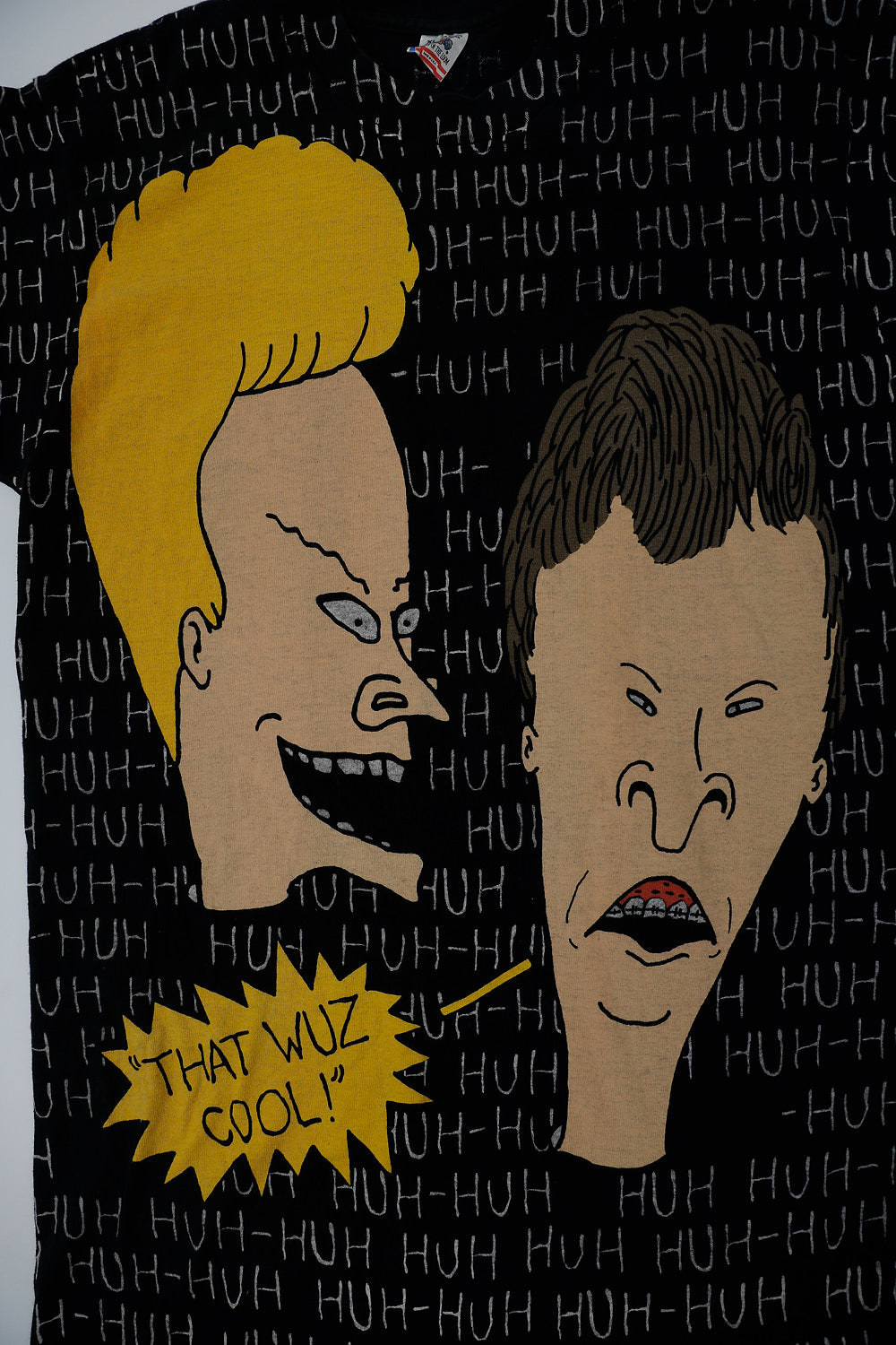 BEAVIS AND BUTTHEAD ALL OVER PRINT HUH-HUH