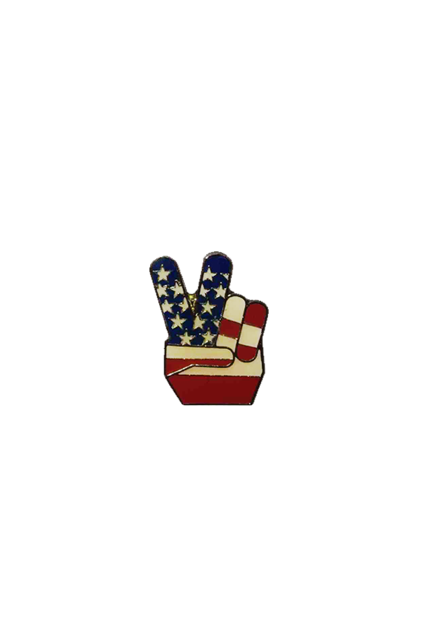 PEACE IN THE USA PIN