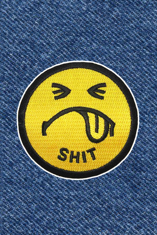 SHIT SMILEY PATCH
