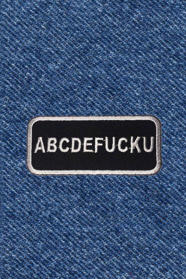 ABCDE FUCK U PATCH