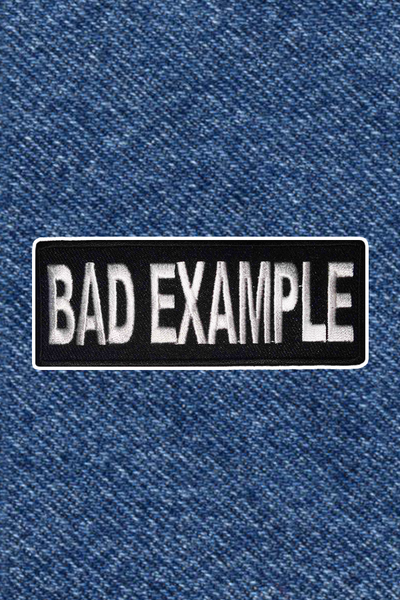 BAD EXAMPLE PATCH