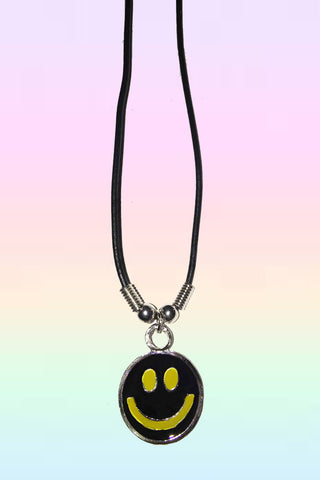 DARK SMILEY NECKLACE