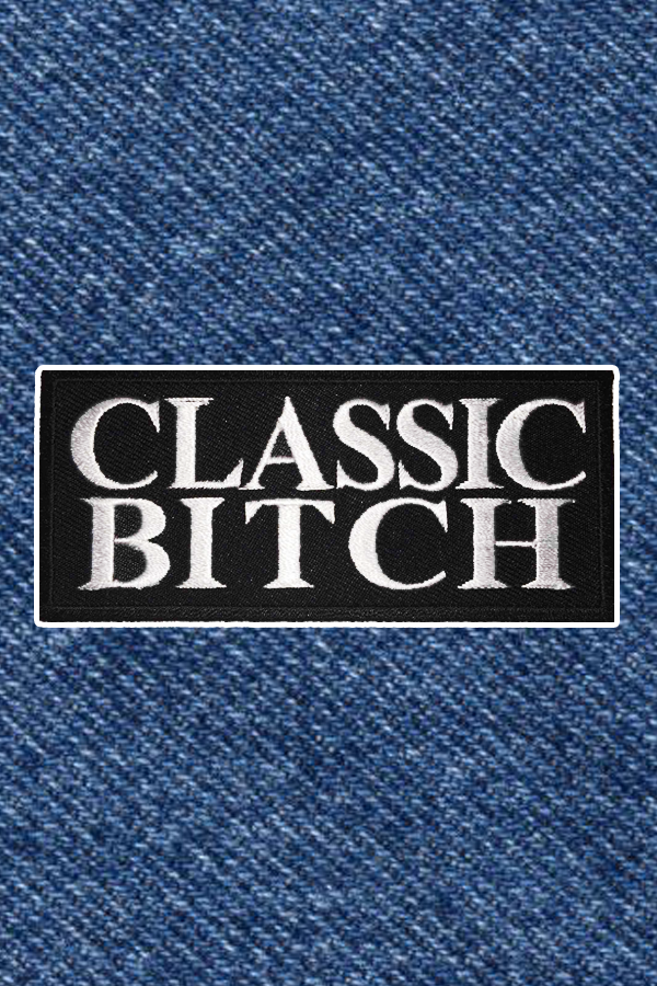 CLASSIC BITCH PATCH