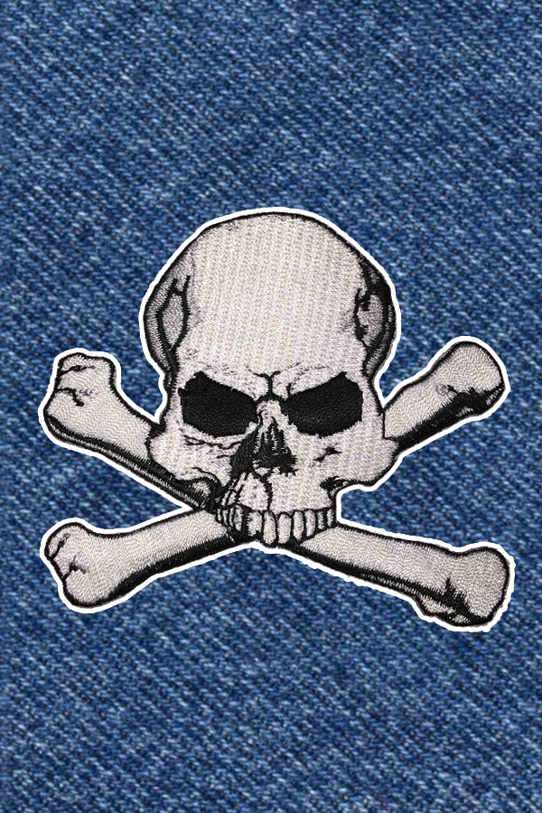 CROSSBONES PATCH