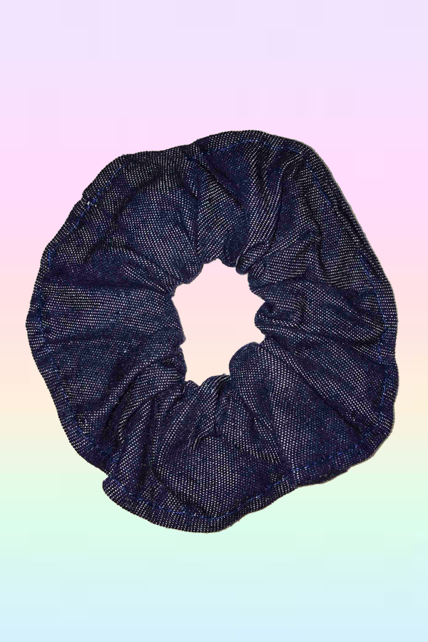 DENIM SCRUNCHY