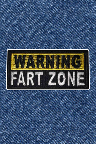 FART ZONE PATCH
