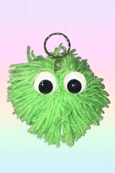 YARN MONSTER KEYCHAIN