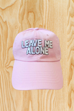 LEAVE ME ALONE HAT
