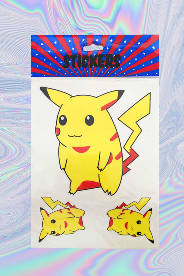 Pika pika sticker set