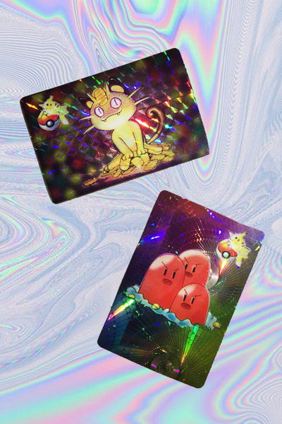 HOLOGRAPHIC POKEMON STICKER PACK
