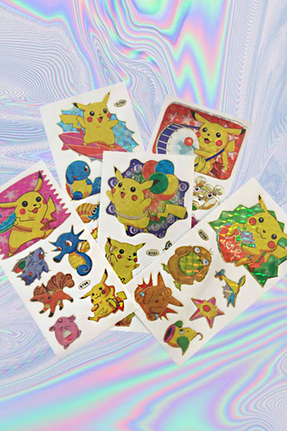 POKEMON STICKER SHEET PACK