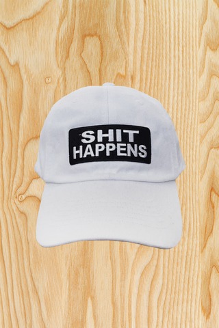 SHIT HAPPENS HAT