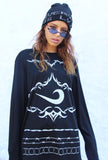 TRIBAL SWISH LONG SLEEVE