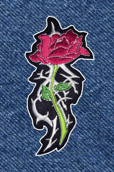 TRIBAL ROSE PATCH