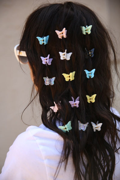 DREAMY BUTTERFLY HAIR CLIPS
