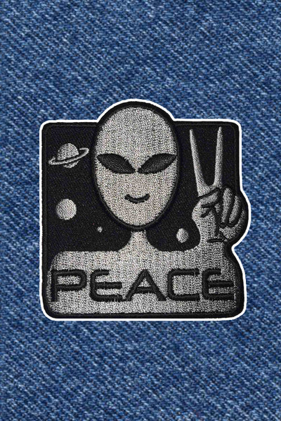 WE COME IN PEACE PATCH