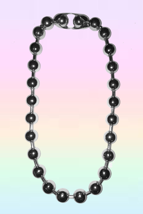 WRECKING BALL CHAIN NECKLACE