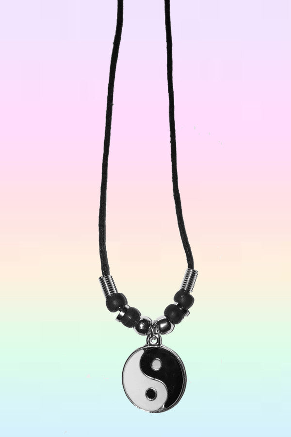 SUPER YIN YANG NECKLACE