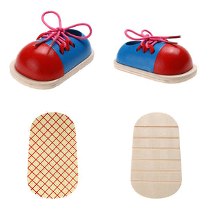 1pc Kids Montessori Educational Toys Children shoes
