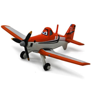 Disney Pixar cars 2 Planes 8 cm Strut Jetstream Dusty D7 Metal Diecast alloy classic Toy Plane model for children 1:55 In Stock