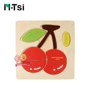 N-Tsi Baby Wooden Puzzle Toys for Toddlers Developing Jigsaw Educational Kids Toys For Children Game Cartoon Animal Gift 3 Years
