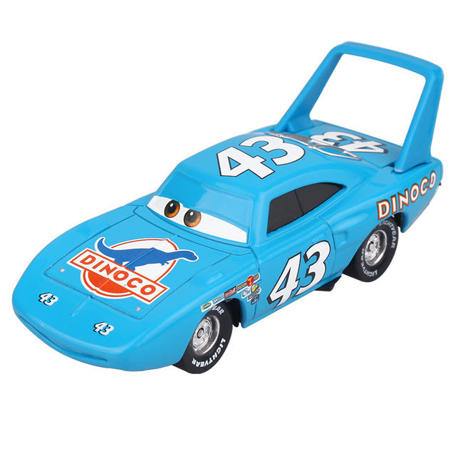 Disney Pixar Cars 2 3 Toy Lightning McQueen Jackson Storm Mack UncleTruck King 1:55 Diecast Metal Car Toy Children Birthday Gift