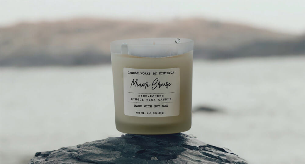 Miami Breeze Soy Candle