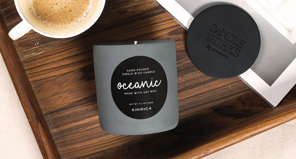 Oceanic Soy Candle!