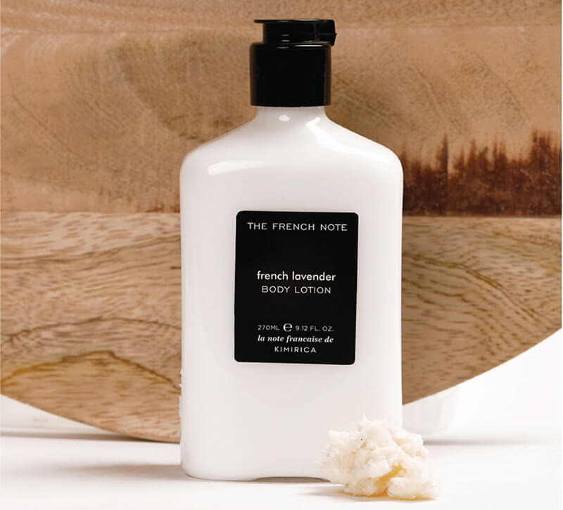 The Freanch Note Body Lotion by kiirica